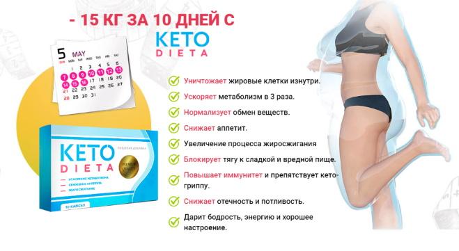 таблетки для кето диеты в Мелеузе